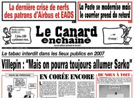 French newspaper Le Canard Enchaine