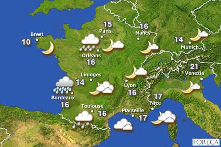 """Learn french expressions with """"Faire"""" related to the weather"""