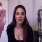 French actress Soraya Garré's Video blog